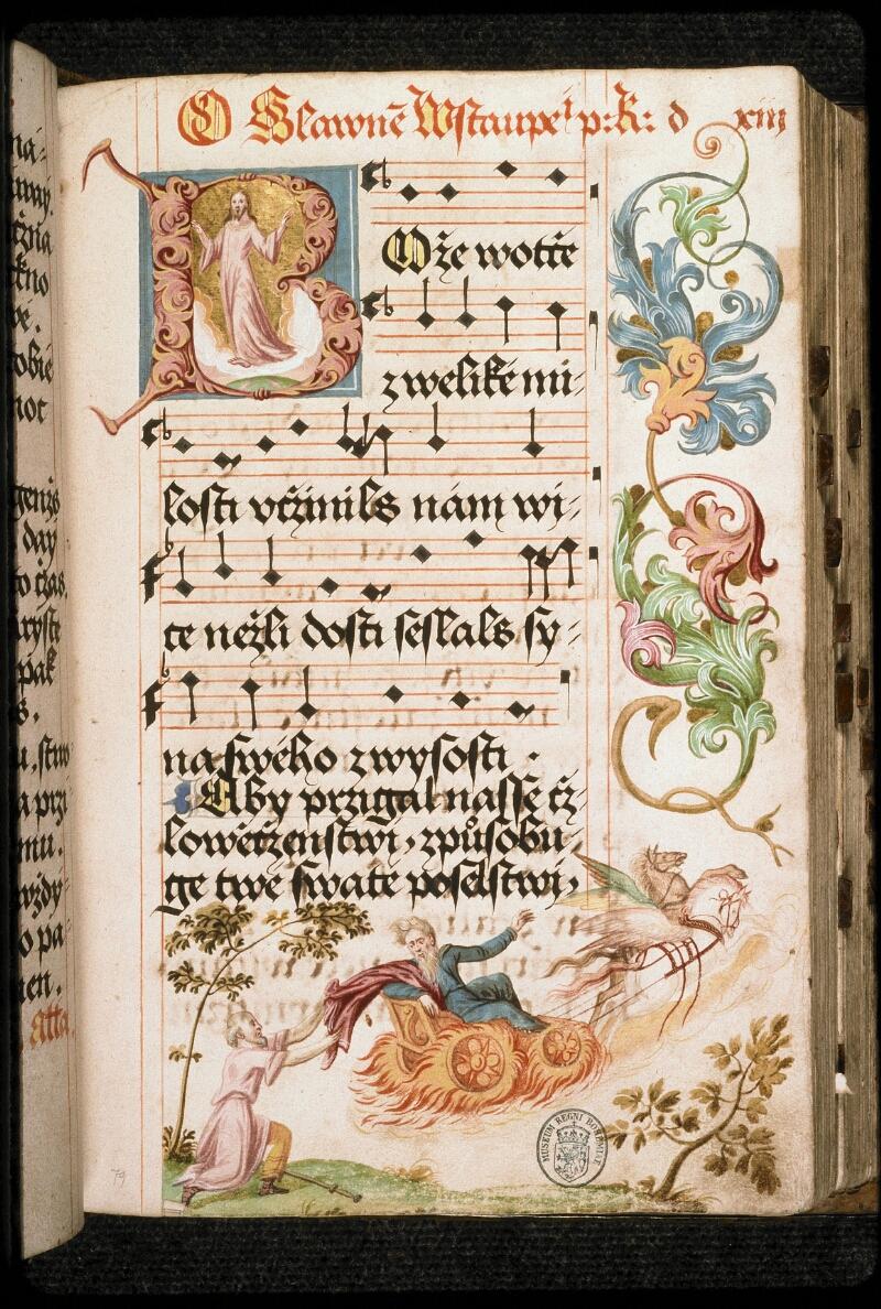 Prague, Musée nat., Bibl., I. A. 16, f. 079 - vue 2