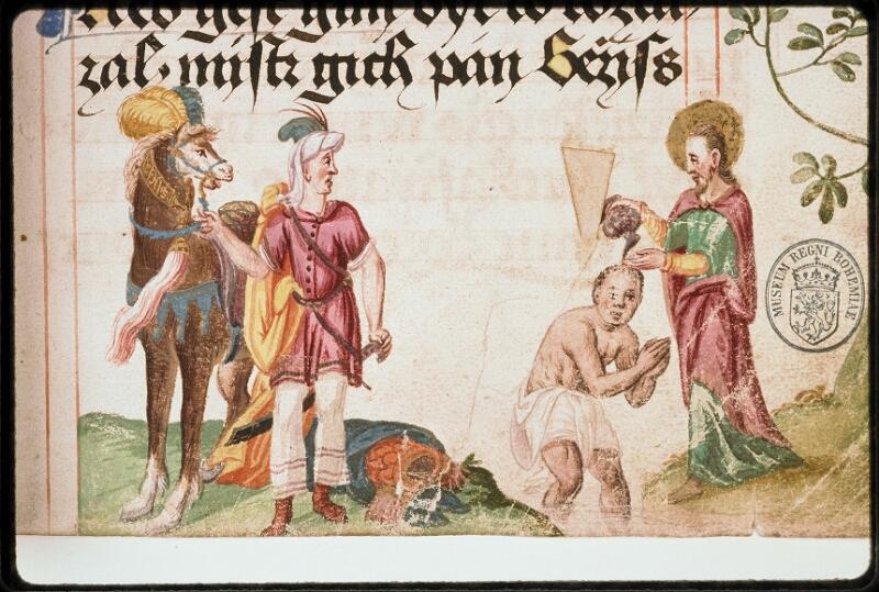 Prague, Musée nat., Bibl., I. A. 16, f. 103 - vue 2