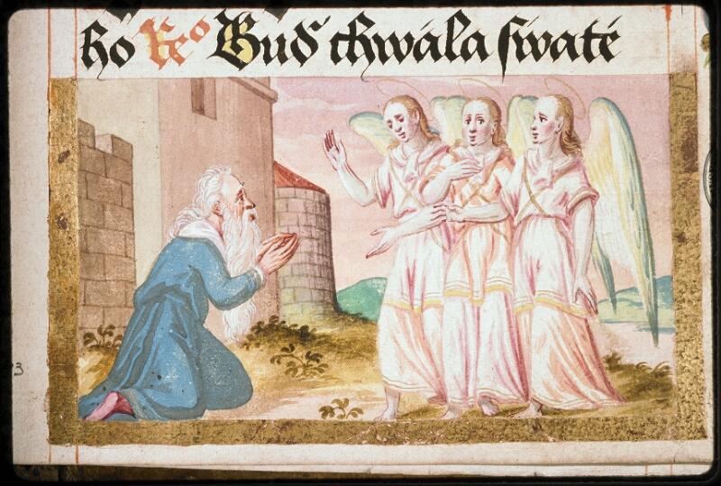 Prague, Musée nat., Bibl., I. A. 16, f. 143 - vue 2