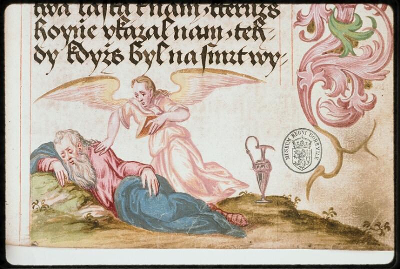 Prague, Musée nat., Bibl., I. A. 16, f. 167 - vue 3