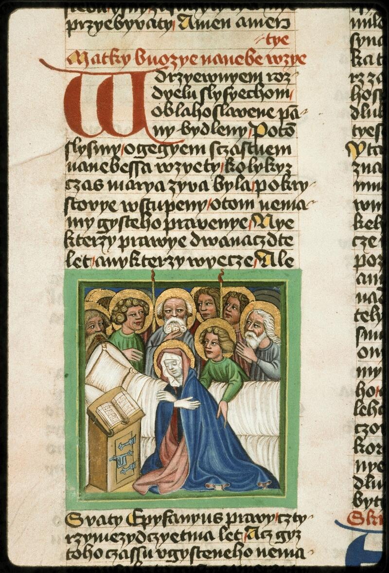 Prague, Musée nat., Bibl., III. B. 10, f. 040v