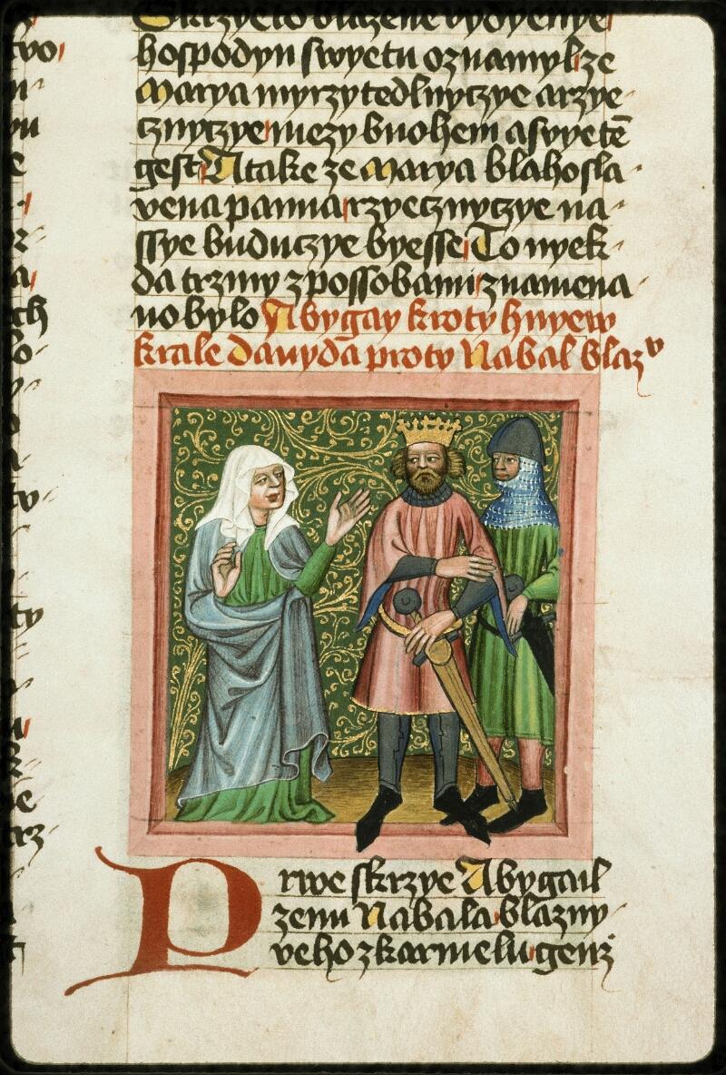 Prague, Musée nat., Bibl., III. B. 10, f. 042