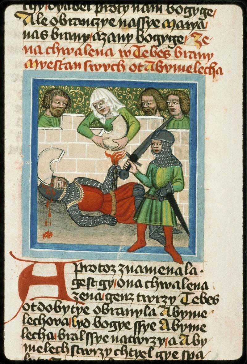 Prague, Musée nat., Bibl., III. B. 10, f. 043v - vue 2