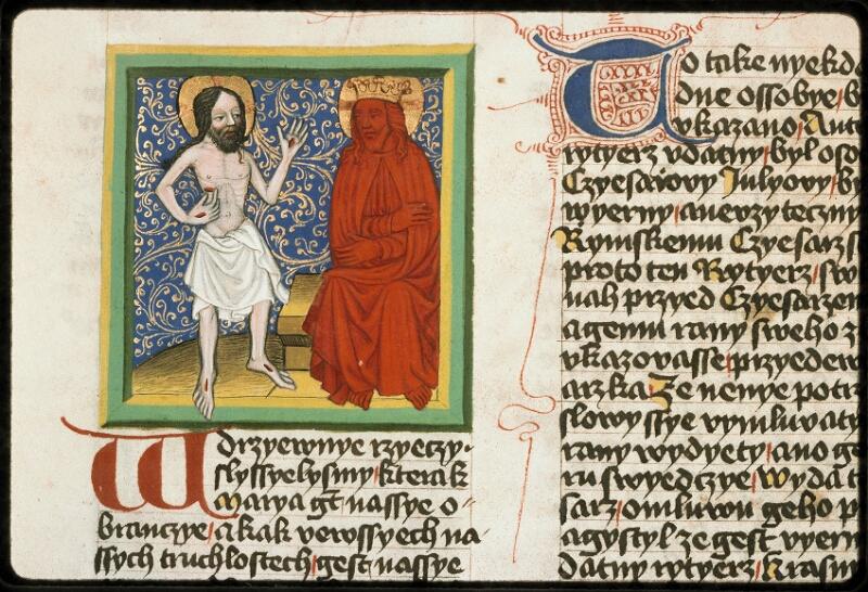 Prague, Musée nat., Bibl., III. B. 10, f. 044v - vue 1