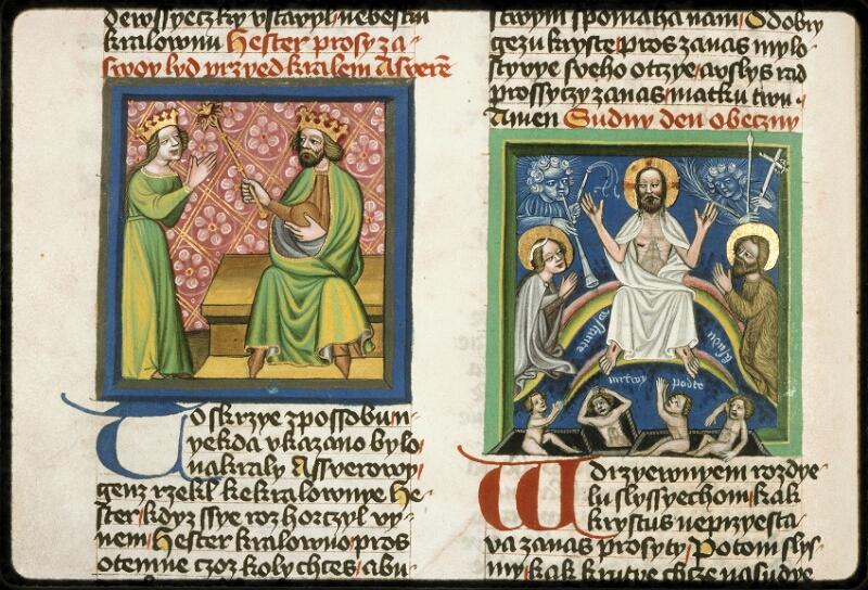 Prague, Musée nat., Bibl., III. B. 10, f. 045v