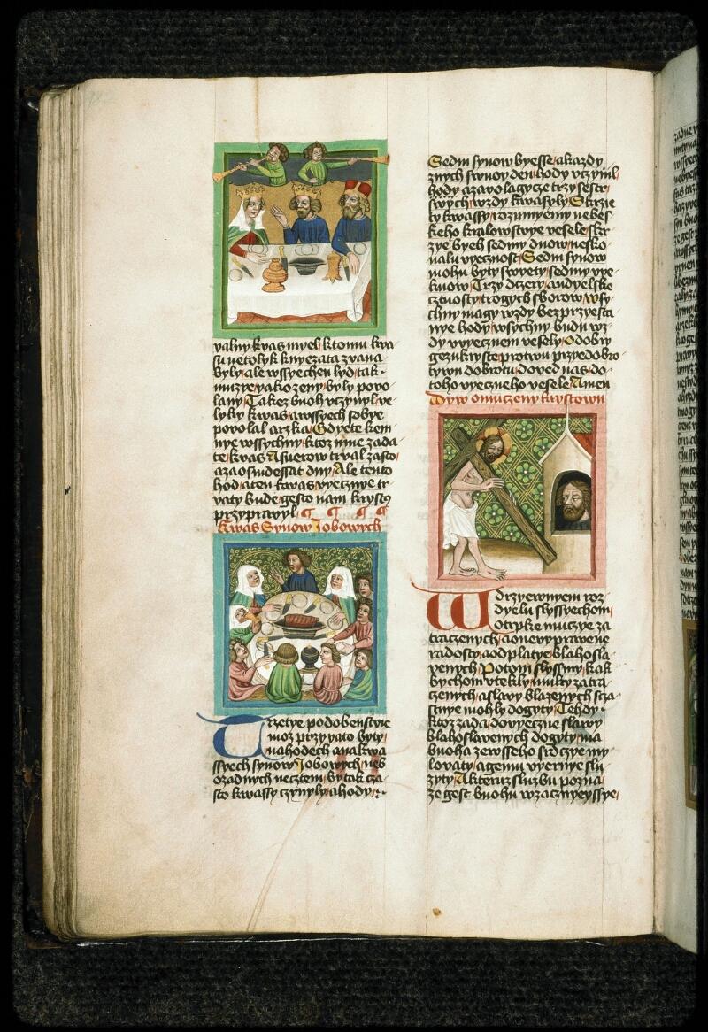 Prague, Musée nat., Bibl., III. B. 10, f. 049v - vue 1