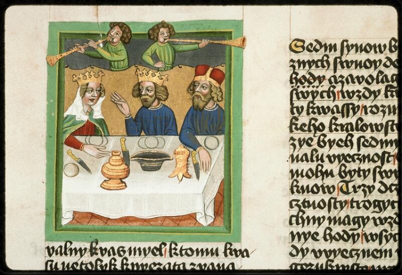 Prague, Musée nat., Bibl., III. B. 10, f. 049v - vue 2