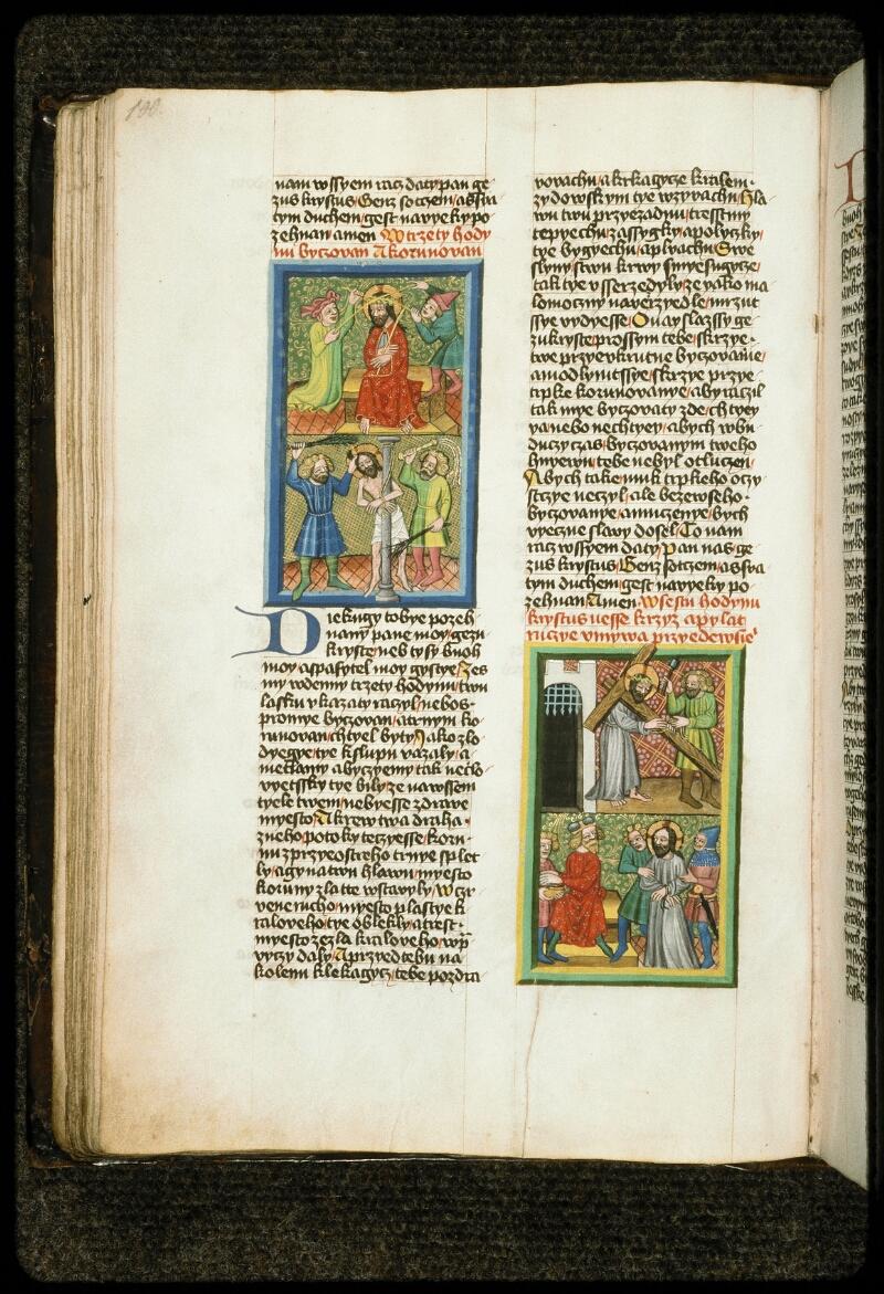 Prague, Musée nat., Bibl., III. B. 10, f. 050v - vue 1