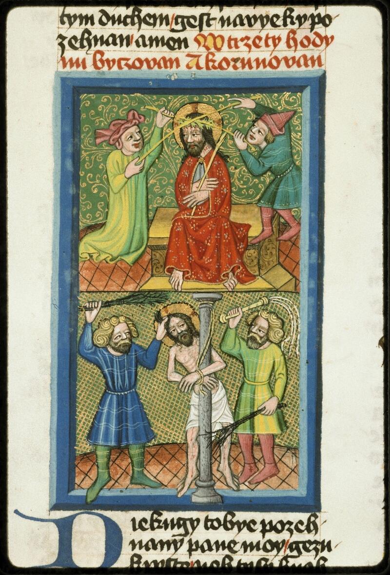 Prague, Musée nat., Bibl., III. B. 10, f. 050v - vue 2