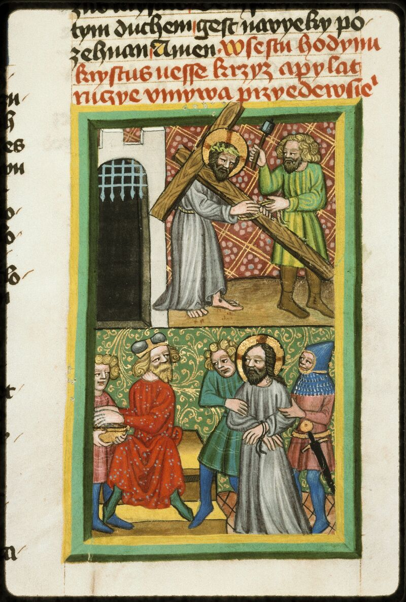 Prague, Musée nat., Bibl., III. B. 10, f. 050v - vue 3