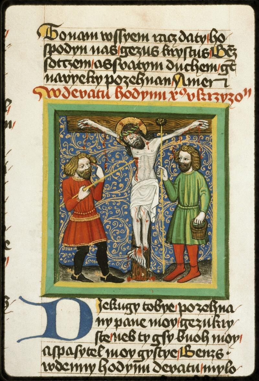 Prague, Musée nat., Bibl., III. B. 10, f. 051