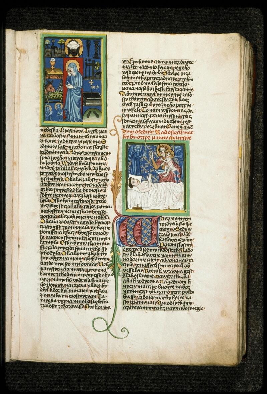 Prague, Musée nat., Bibl., III. B. 10, f. 053 - vue 1