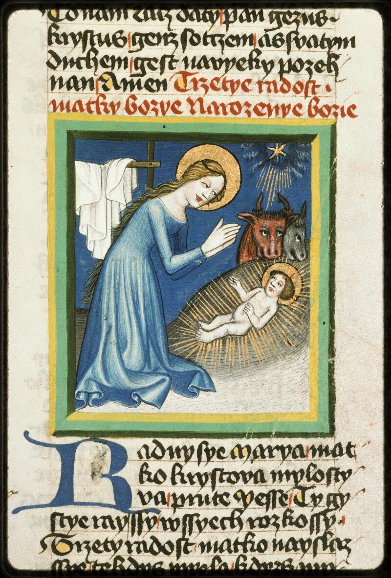 Prague, Musée nat., Bibl., III. B. 10, f. 054 - vue 2