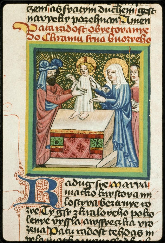 Prague, Musée nat., Bibl., III. B. 10, f. 055 - vue 1