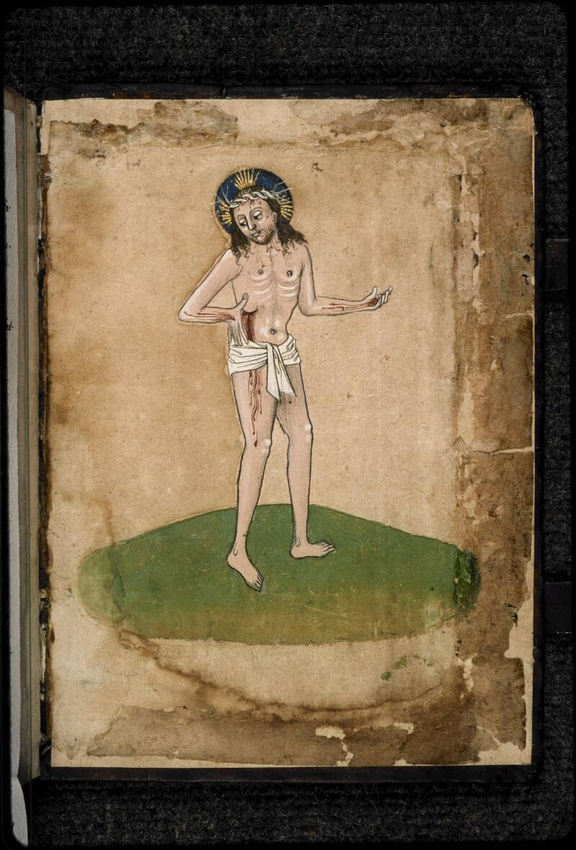 Prague, Musée nat., Bibl., III. E. 47, contre-plat inf.