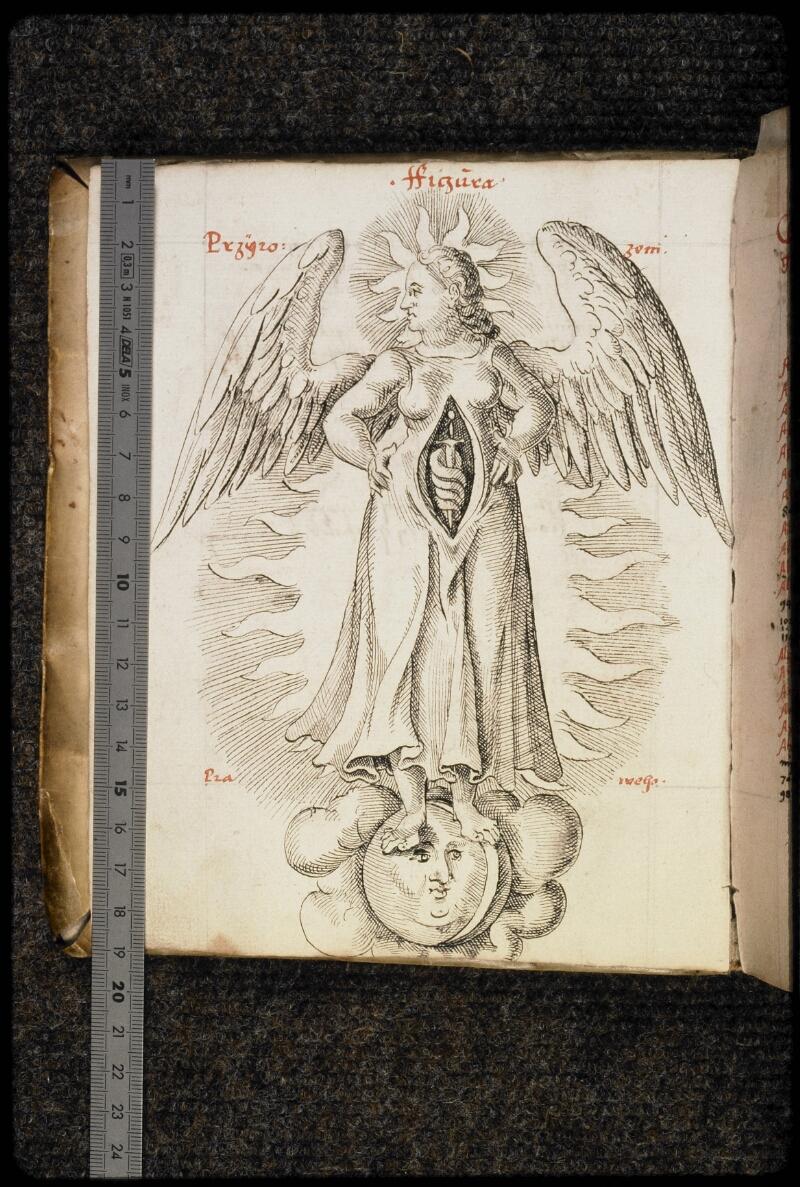 Prague, Musée nat., Bibl., III. G. 12, f. IV v - vue 1