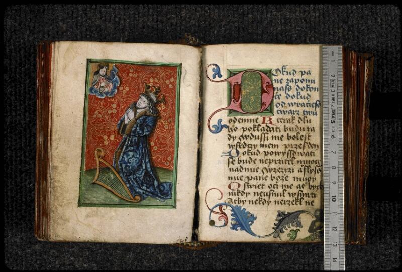Prague, Musée nat., Bibl., III. H. 37, f. 057v-058 - vue 1