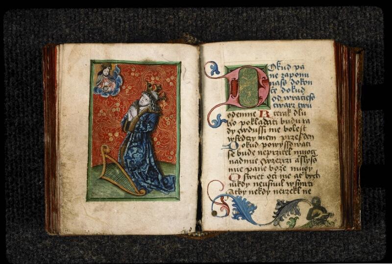 Prague, Musée nat., Bibl., III. H. 37, f. 057v-058 - vue 2