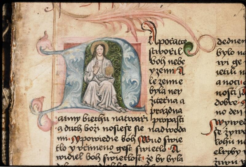 Prague, Musée nat., Bibl., IV. B. 12, f. 001 - vue 3