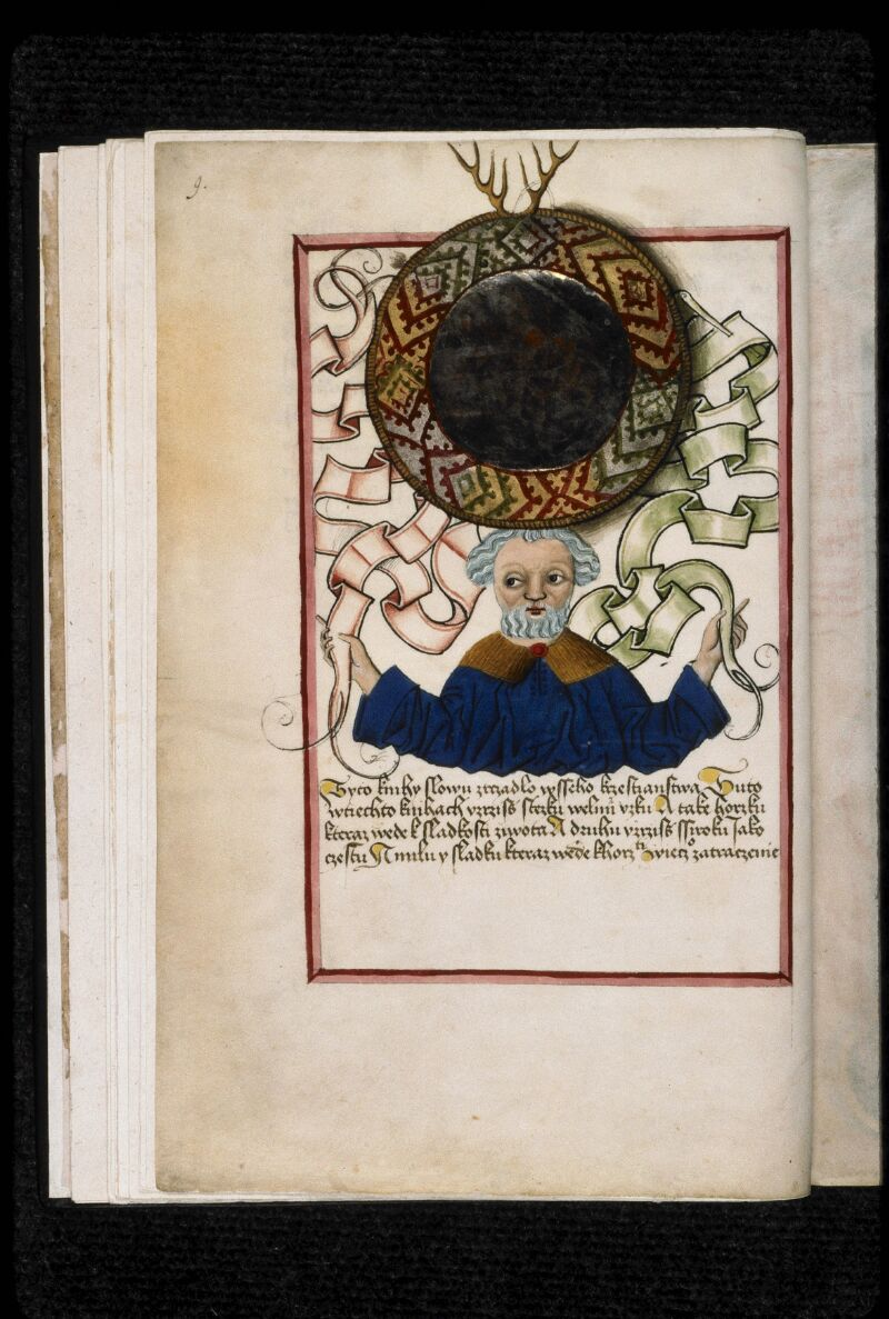 Prague, Musée nat., Bibl., IV. B. 24, f. 009v