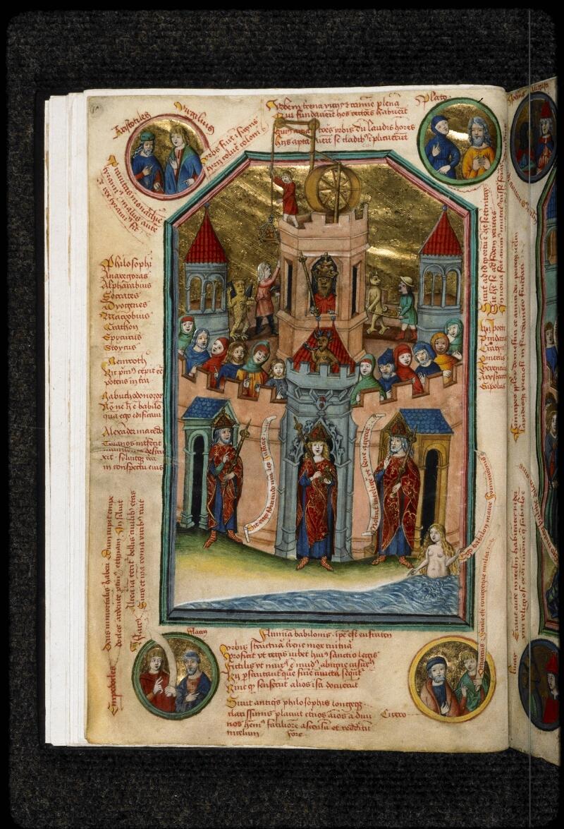 Prague, Musée nat., Bibl., IV. B. 24, f. 010v - vue 1