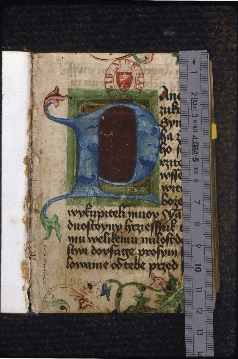 Prague, Musée nat., Bibl., IV. H. 31, p. 001 - vue 1