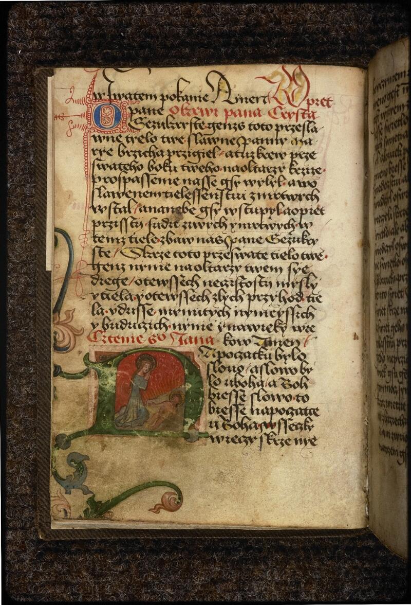 Prague, Musée nat., Bibl., IV. H. 32, f. 006v - vue 2