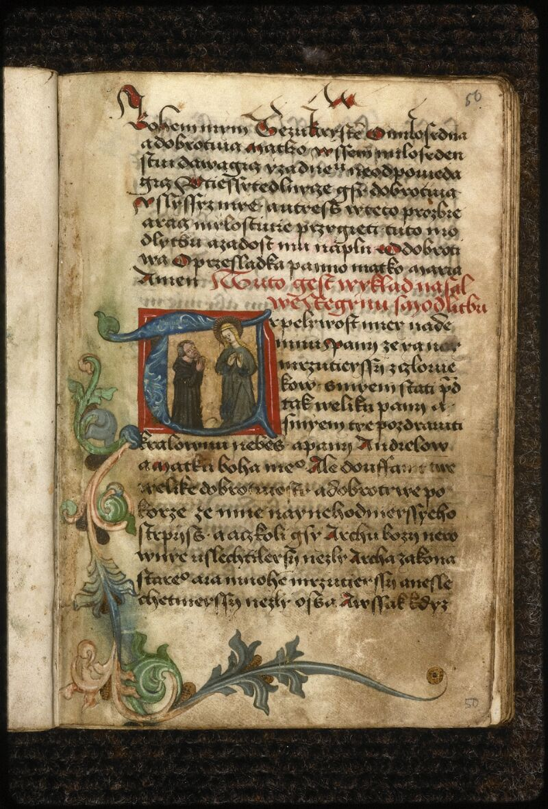 Prague, Musée nat., Bibl., IV. H. 32, f. 050 - vue 1