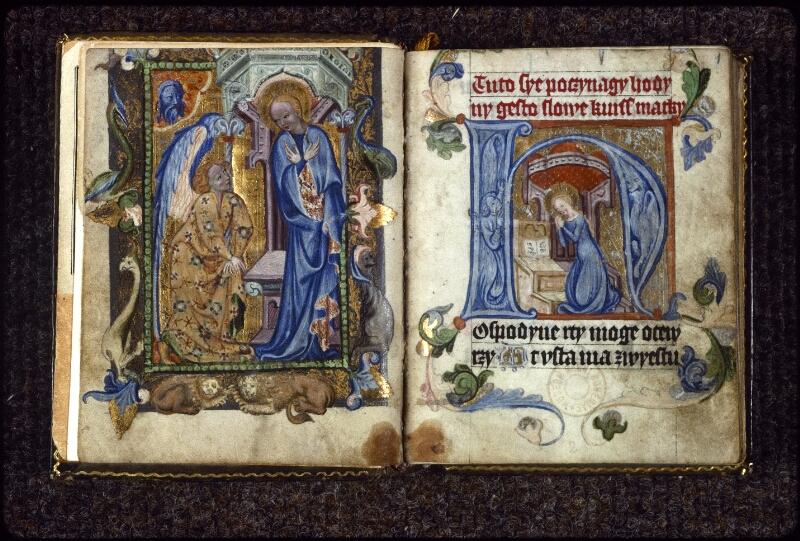 Prague, Musée nat., Bibl., V. H. 36, f. Av-p. 1