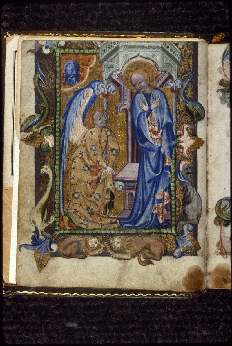 Prague, Musée nat., Bibl., V. H. 36, f. Av