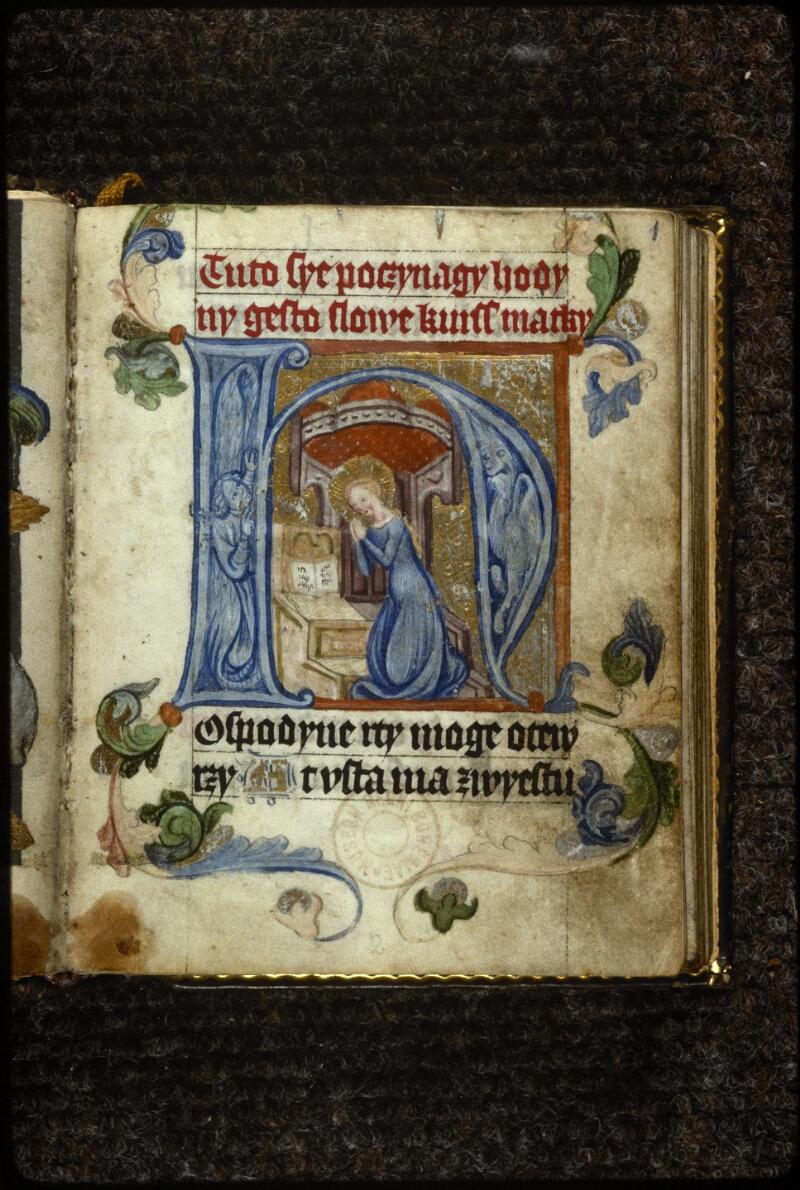 Prague, Musée nat., Bibl., V. H. 36, p. 001 - vue 2