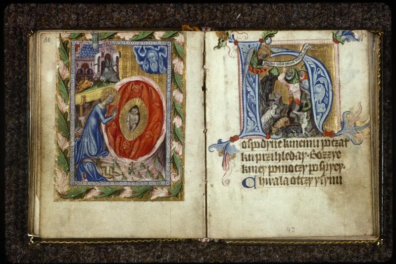 Prague, Musée nat., Bibl., V. H. 36, p. 080-081