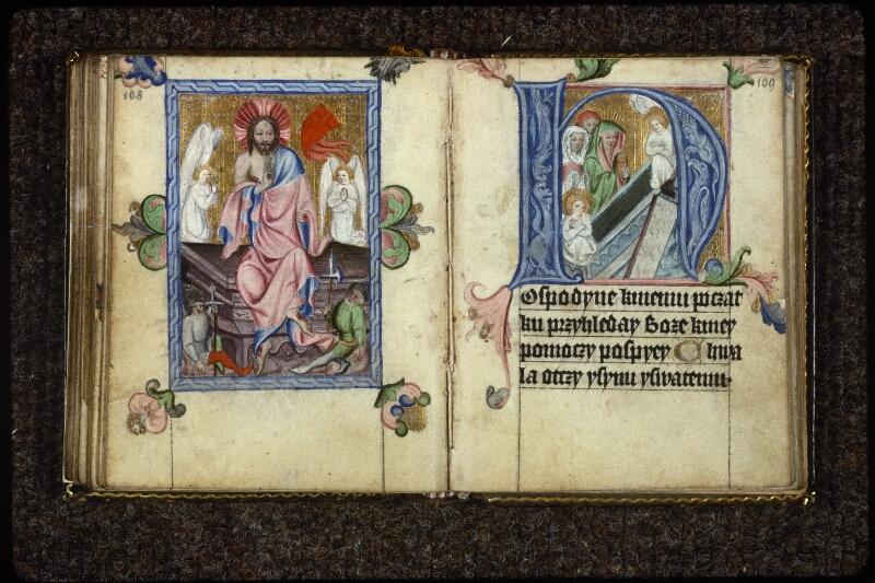 Prague, Musée nat., Bibl., V. H. 36, p. 108-109