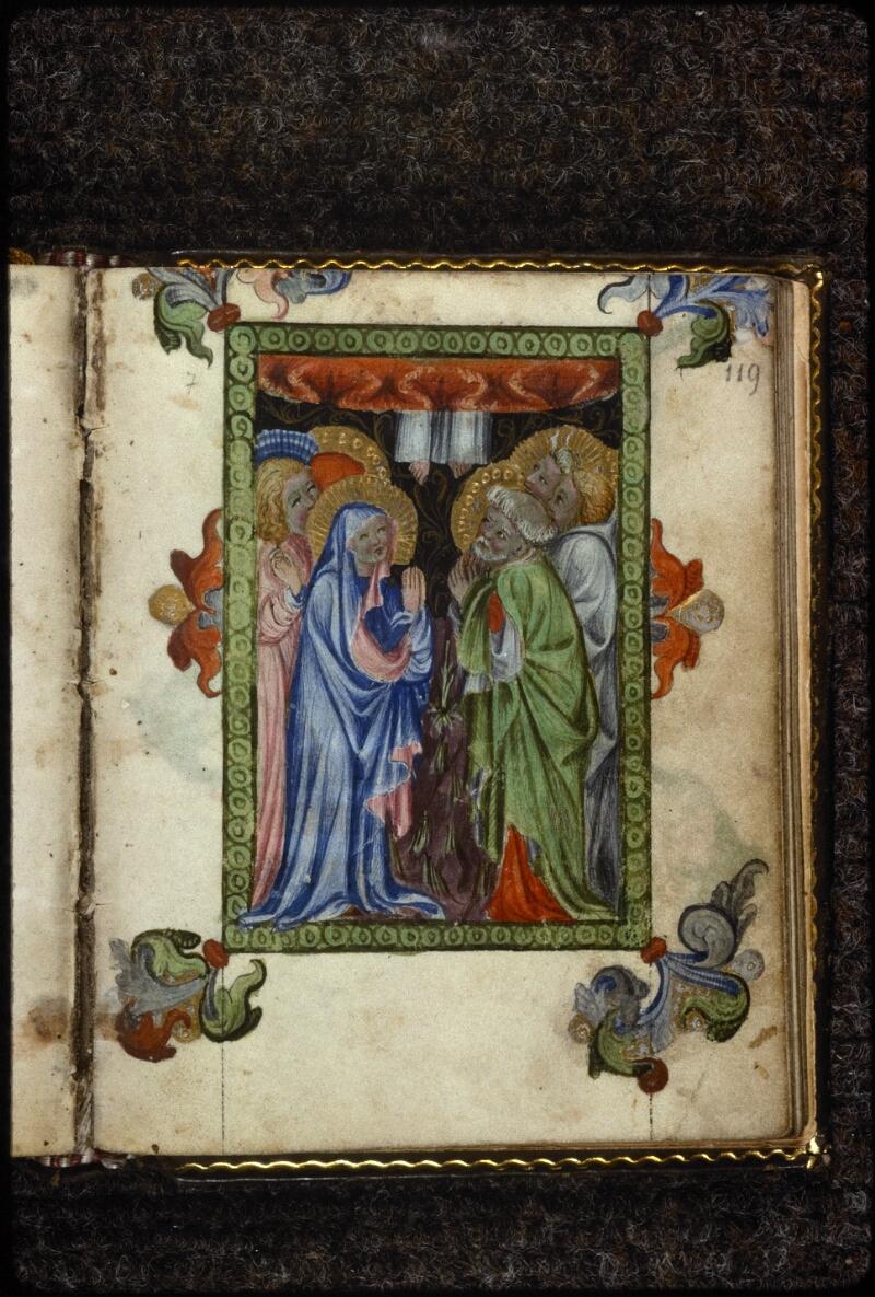 Prague, Musée nat., Bibl., V. H. 36, p. 119