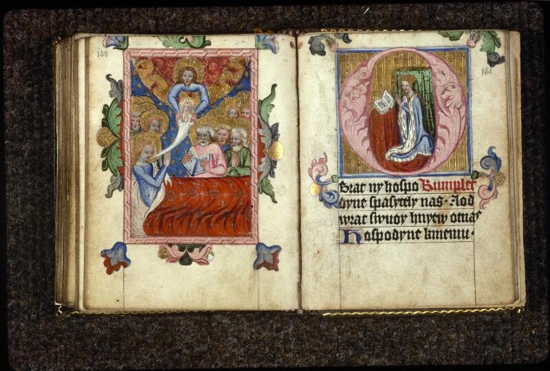 Prague, Musée nat., Bibl., V. H. 36, p. 150-151