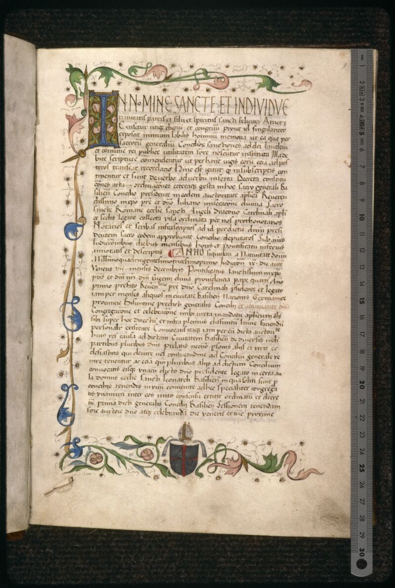 Prague, Musée nat., Bibl., VIII. D. 35, p. 001 - vue 1