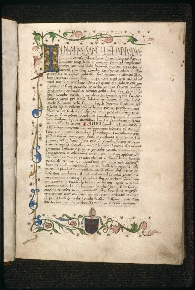 Prague, Musée nat., Bibl., VIII. D. 35, p. 001 - vue 2