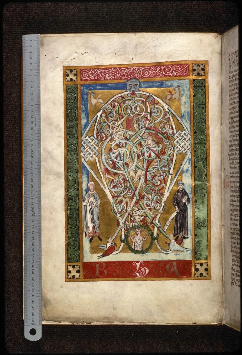 Prague, Musée nat., Bibl., X. A. 11, f. 001v - vue 1