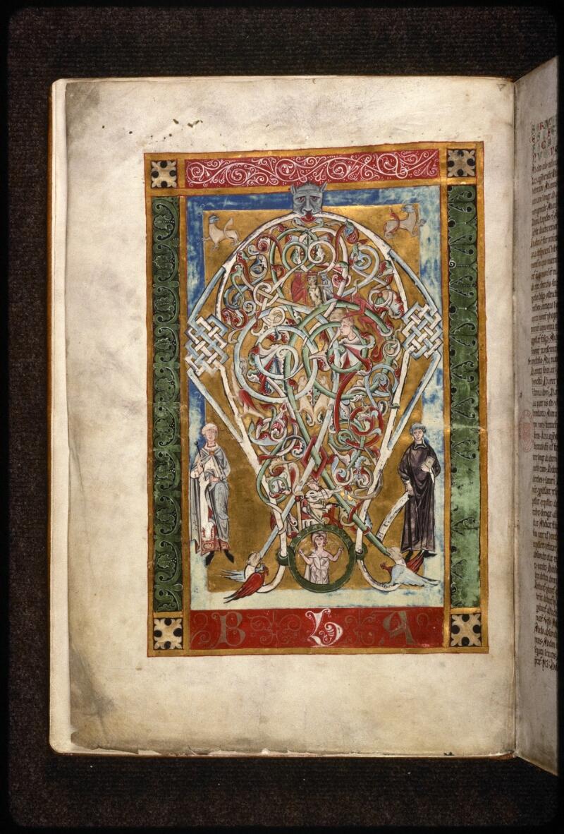 Prague, Musée nat., Bibl., X. A. 11, f. 001v - vue 2