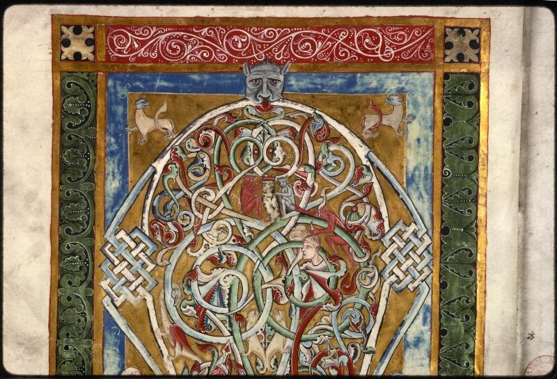 Prague, Musée nat., Bibl., X. A. 11, f. 001v - vue 3