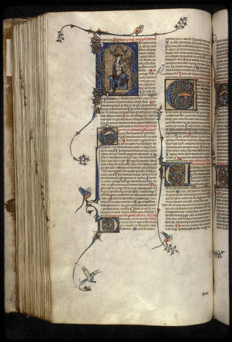 Prague, Musée nat., Bibl., XII. A. 10, f. 203v - vue 1