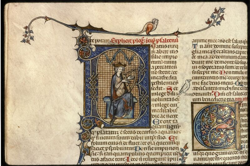 Prague, Musée nat., Bibl., XII. A. 10, f. 203v - vue 2