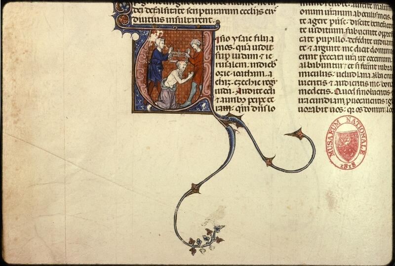 Prague, Musée nat., Bibl., XII. A. 10, f. 257v
