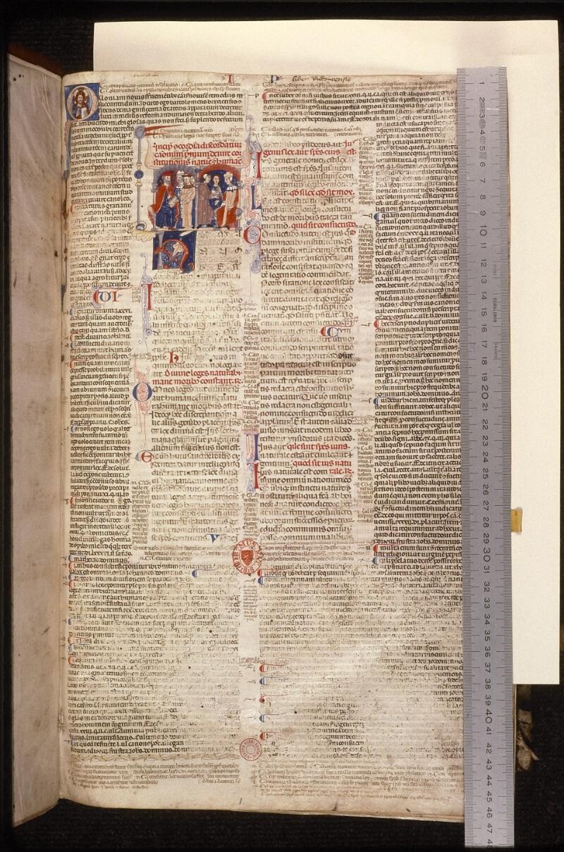 Prague, Musée nat., Bibl., XII. A. 12, f. 002 - vue 1