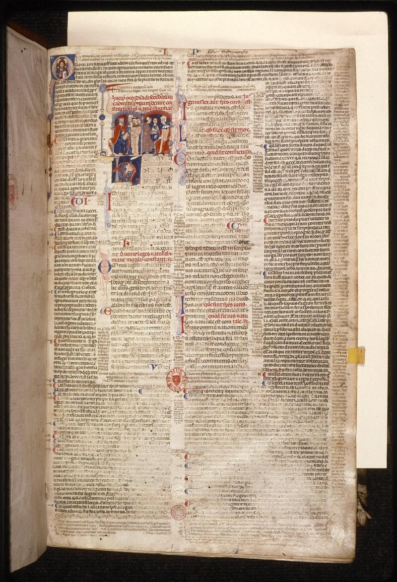 Prague, Musée nat., Bibl., XII. A. 12, f. 002 - vue 2