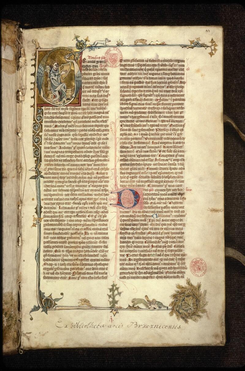 Prague, Musée nat., Bibl., XII. A. 13, f. 001 - vue 2