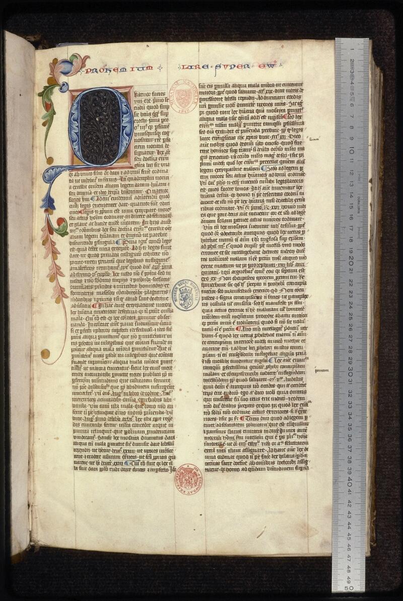 Prague, Musée nat., Bibl., XII. A. 17, f. 001 - vue 1