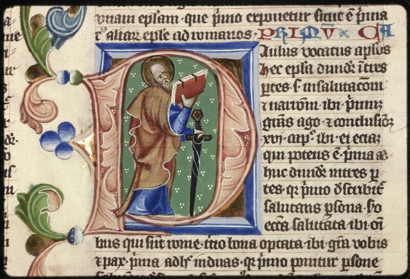 Prague, Musée nat., Bibl., XII. A. 17, f. 123 - vue 2