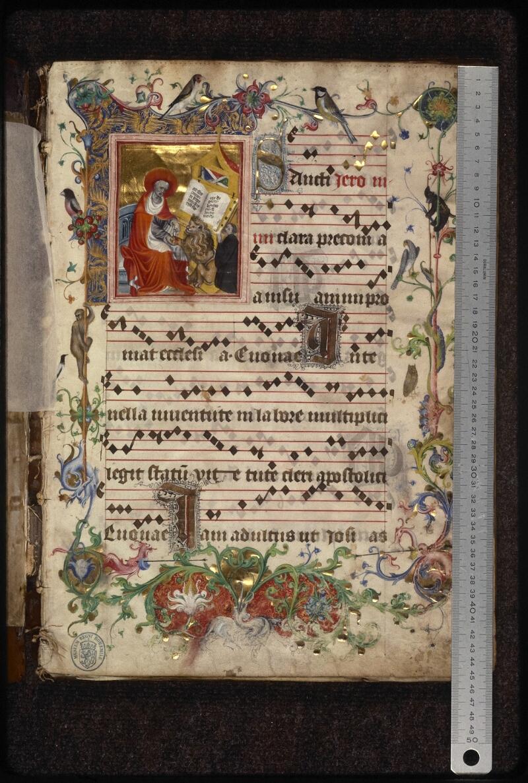 Prague, Musée nat., Bibl., XII. A. 18, f. 001 - vue 1
