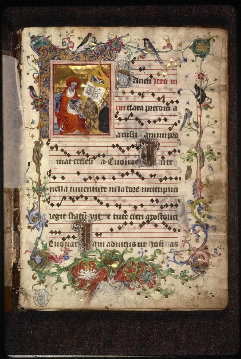 Prague, Musée nat., Bibl., XII. A. 18, f. 001 - vue 2